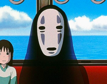 Spirited Away 'no face' ghost