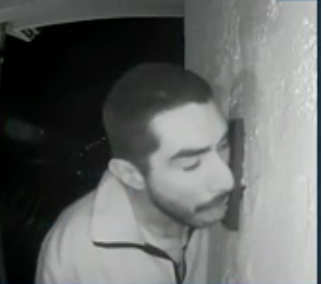 Man caught licking doorbell in California.