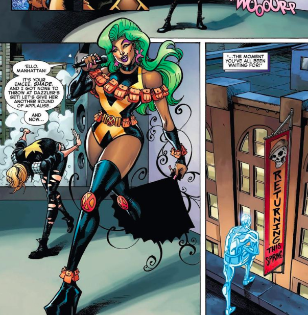 marvel comics shade drag queen superhero