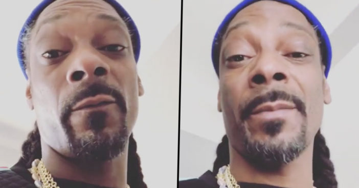 Snoop Dogg speaks out against Donald Trump.
