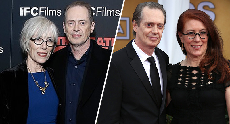 Steve Buscemi and wife Jo Andres
