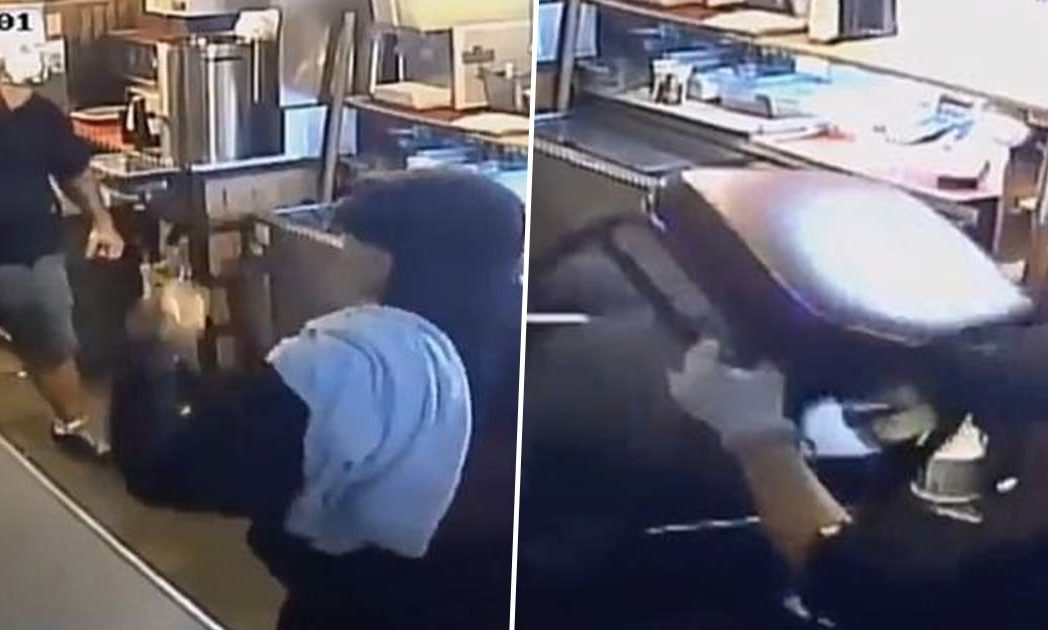 Armed thief Mexican restaurant