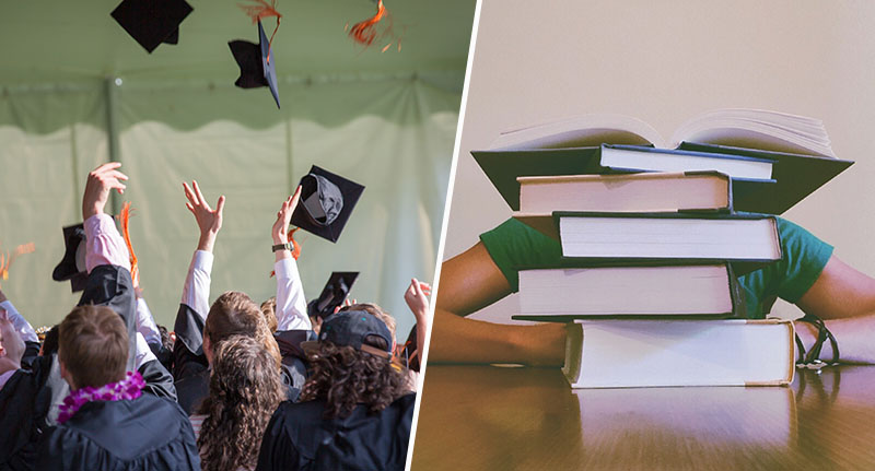 Young people feel pressured to go to university