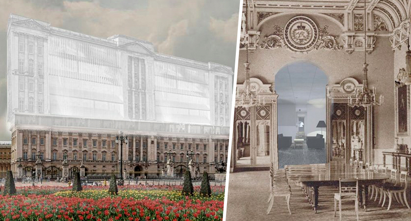 plans for affordable housing in Buckingham Palace