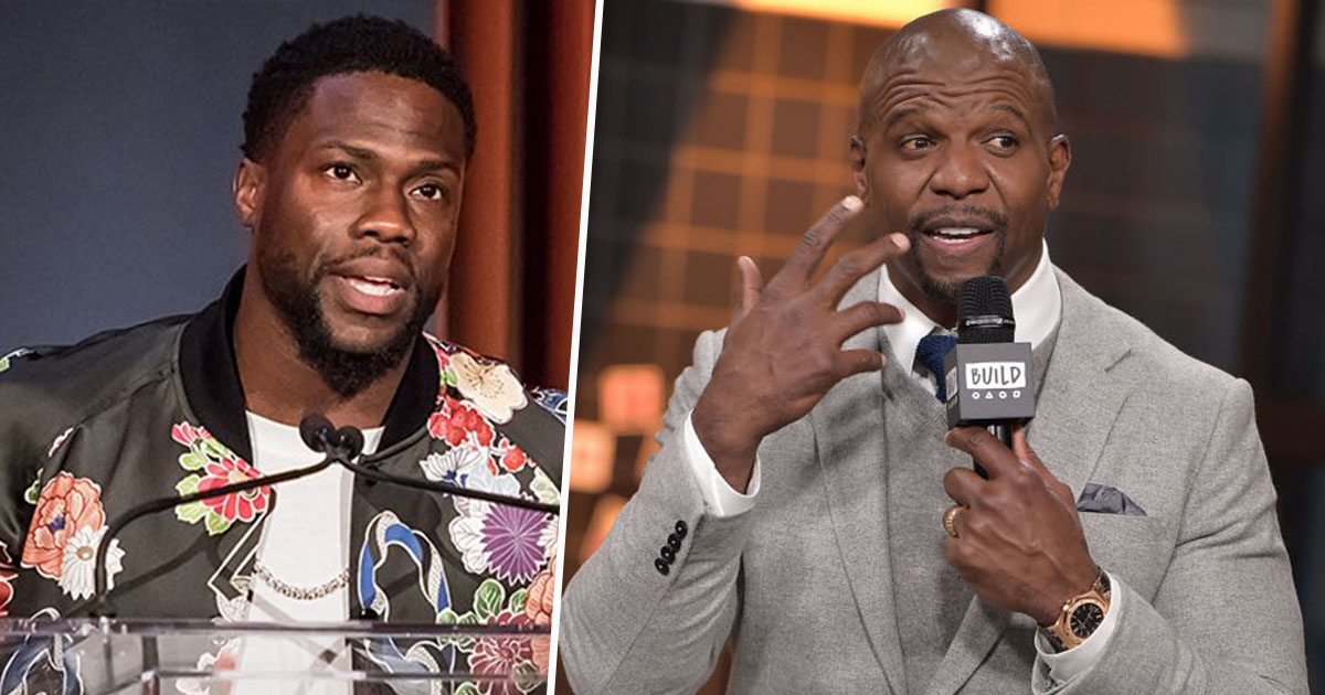 Kevin Hart and Terry Crews