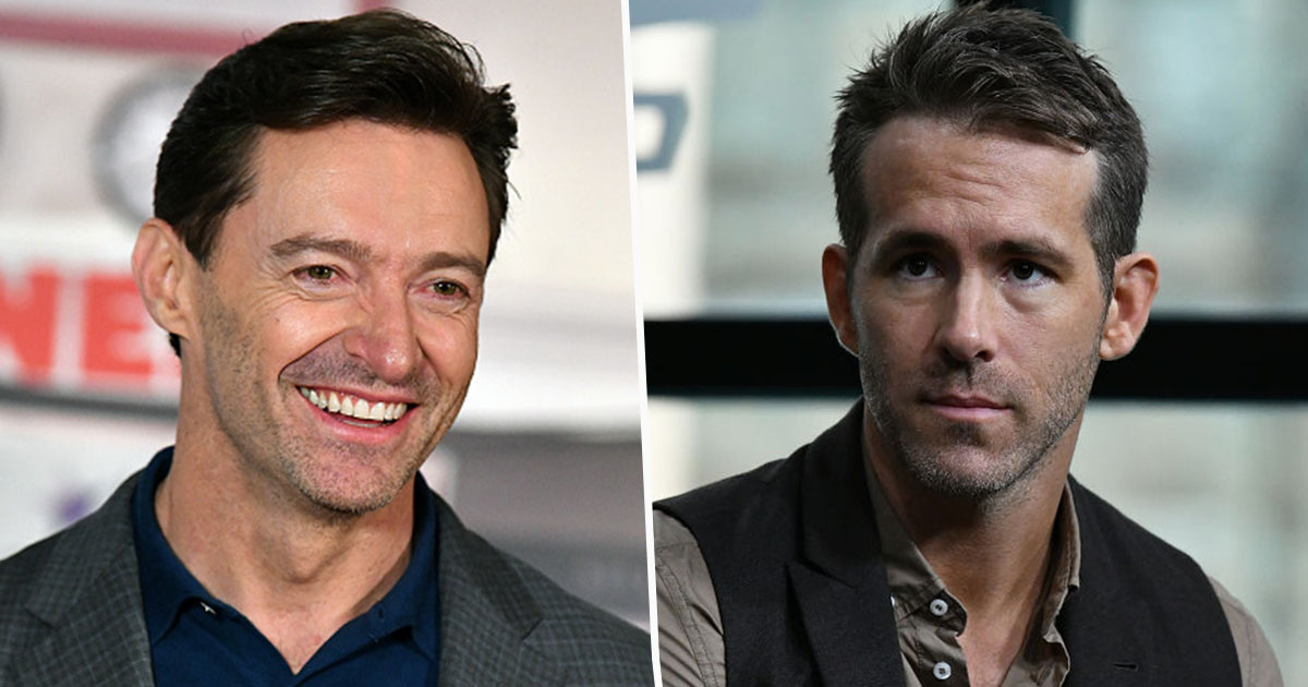 hugh jackman/ryan reynolds