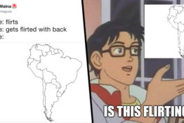 the south america meme