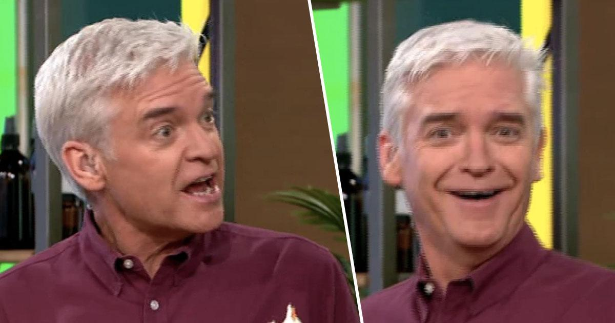 Phil Schofield Thinks He's Tripping After Eating Too Many CBD Products