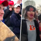 New Evidence Shows MAGA Hat Teens Making Rape Jokes At Women During March