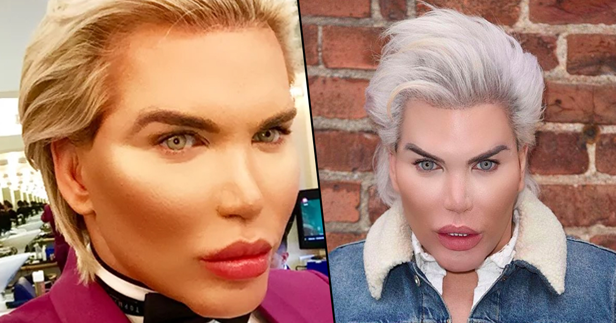 human ken doll old face