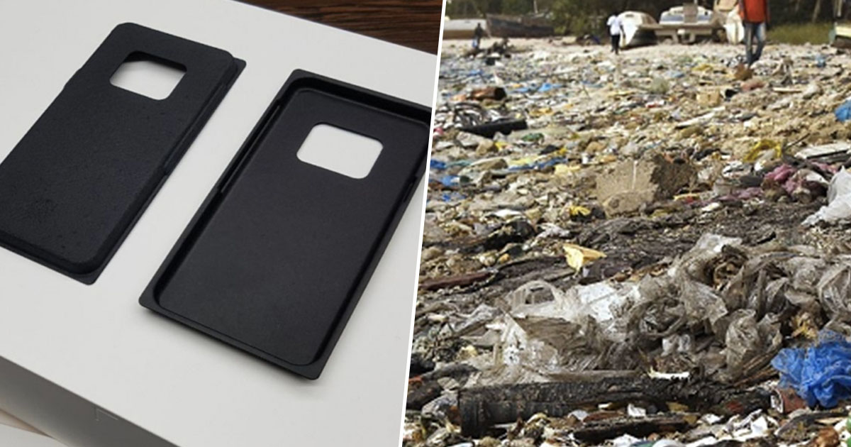 Samsung is swapping its plastic packaging for sustainable materials