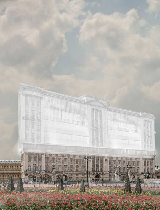 affordable palace plans elevation