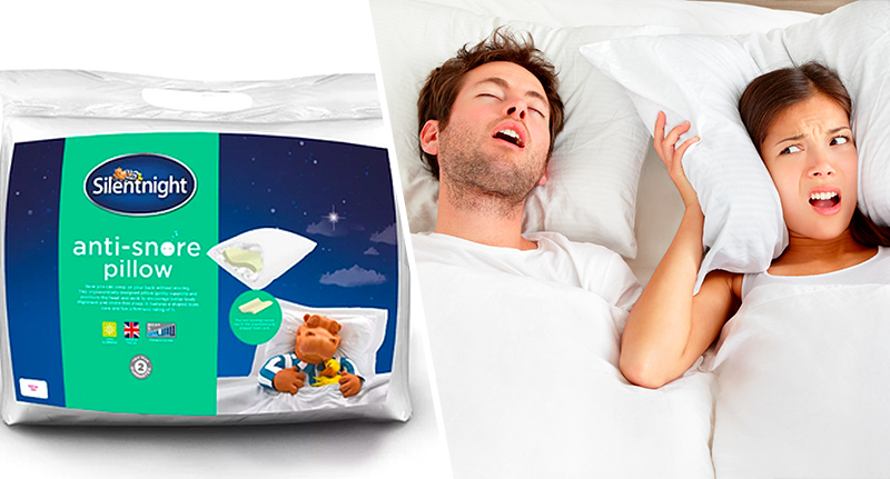 anti snoring pillow