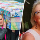 Headteacher Buried In Coffin Covered In Drawings By Her Pupils