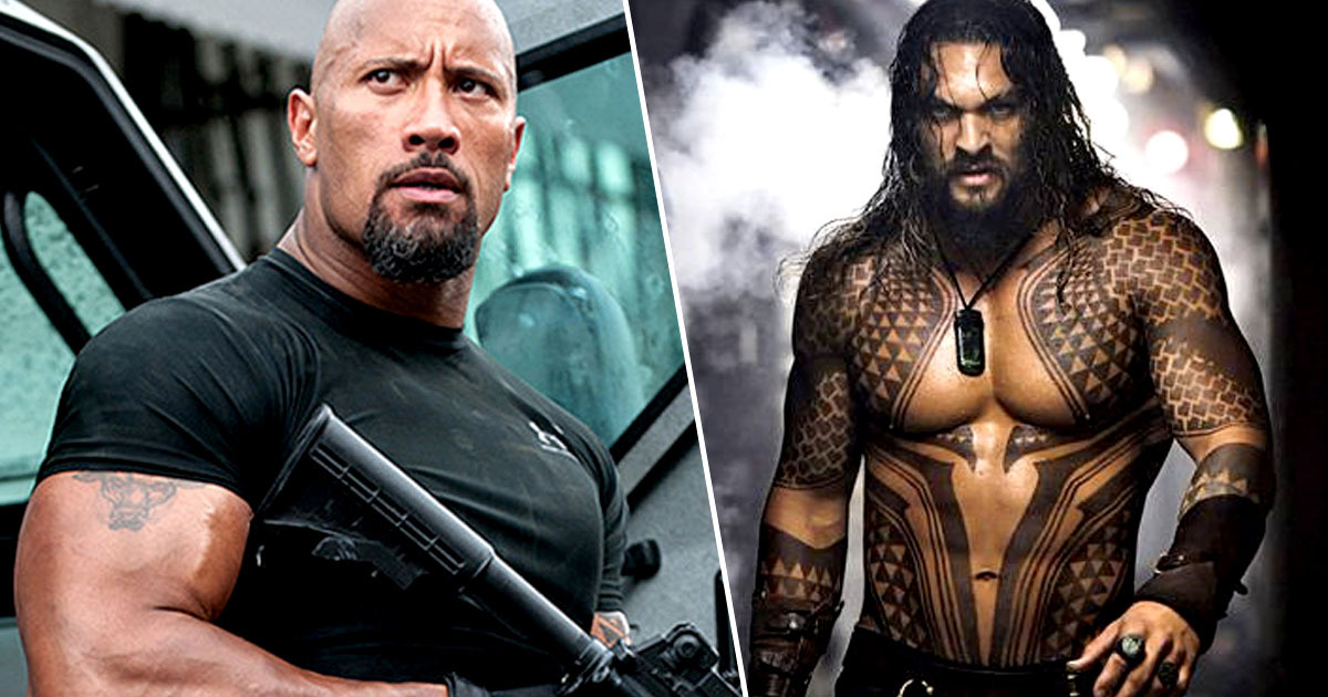 the rock and jason momoa