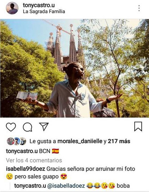 tony castro in Barcelona