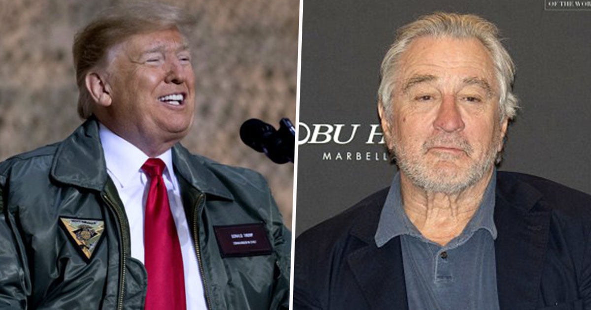 Donald Trump and Robert De Niro