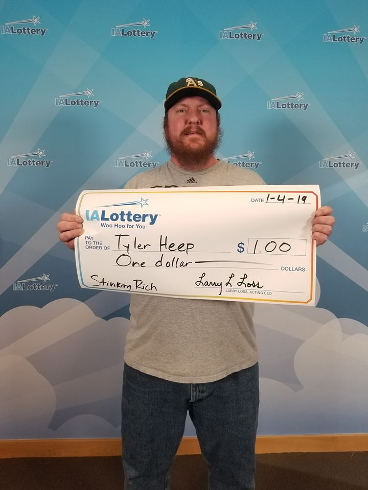 tyler heep giant cheque lottery