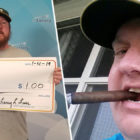 Guy Who Won One Dollar On Lottery Asks To Be Paid With Giant Cheque