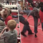 Kids Wrestling Tournament Turns Into Mass Brawl With Parents