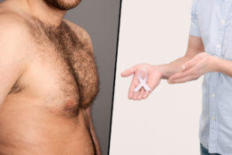 Men discuss their breast cancer diagnosis.