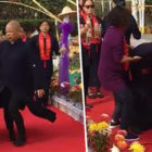 Buddhist Master Blesses Temple By Spinning For 4 Minutes, Accidentally Throws Up