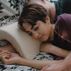Genius Pillow Prevents Arm From Going Numb While Spooning