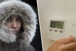 Women feel the cold more than men.