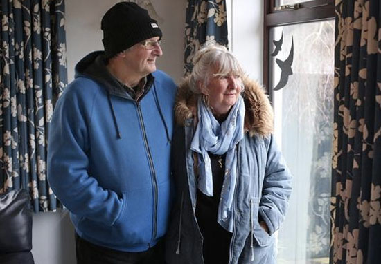 Couple refuse to turn heating on