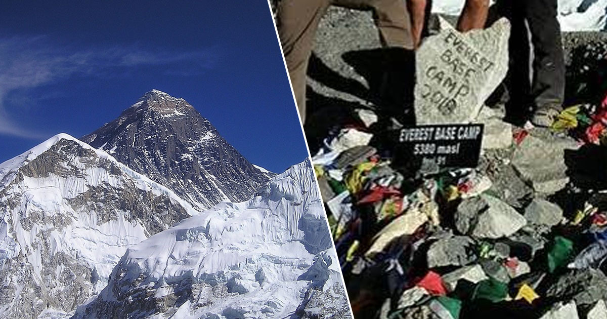 Everest Base Camp closure