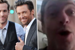 Hugh Jackman trolled by Ryan Reynolds.