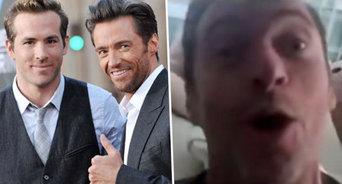 Hugh Jackman trolled by Ryan Reynolds