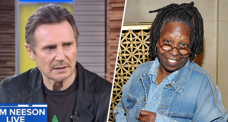 Whoopi Goldberg defends Liam Neeson