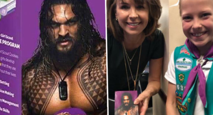 Girl Scout Rebrands Samoa Cookies With Jason Momoa To Sell More