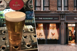 pints for running miles at new balance pub