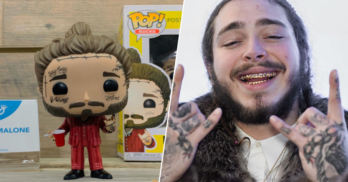 Post Malone Funko Doll
