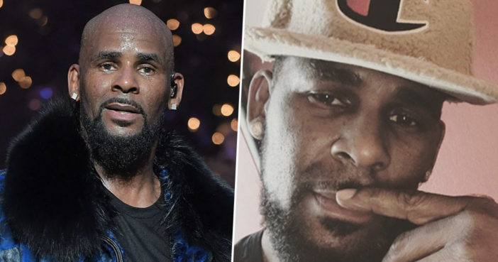 R Kelly tape handed to police.
