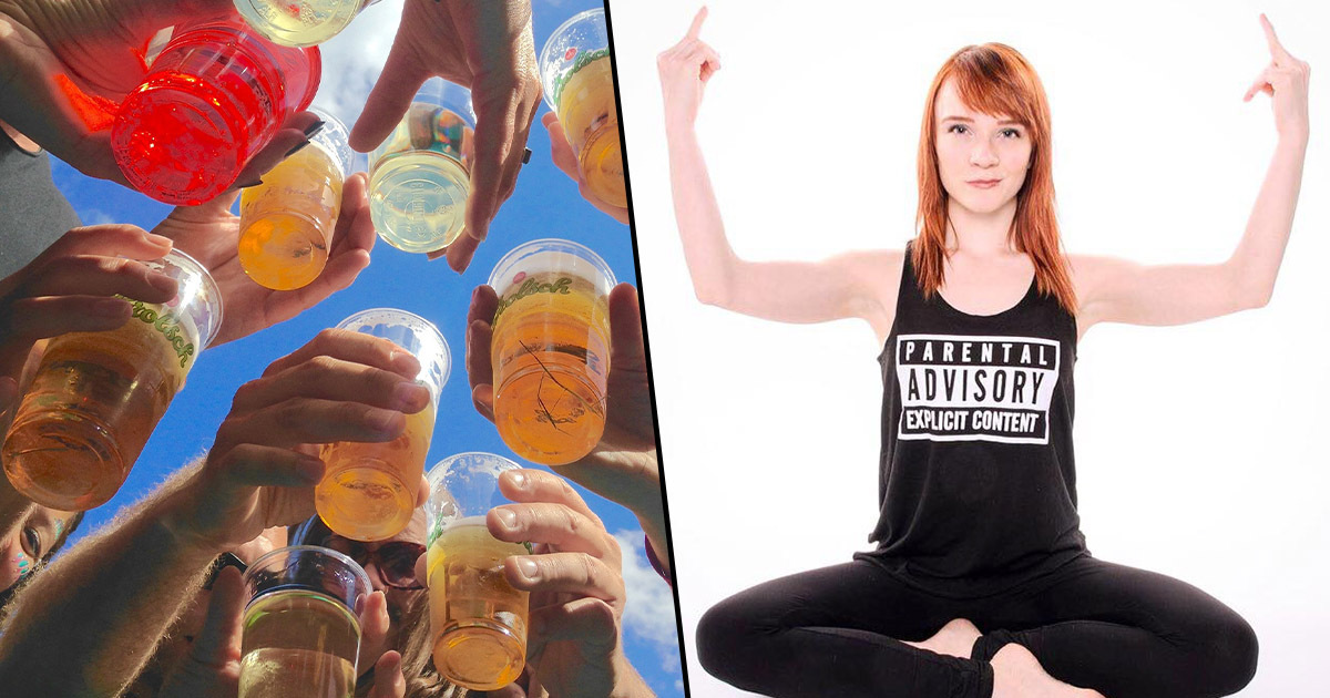 Rage Yoga exists where you can drink beer and swear