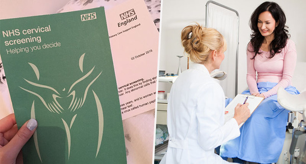 Cervical screening leaflet and appointment
