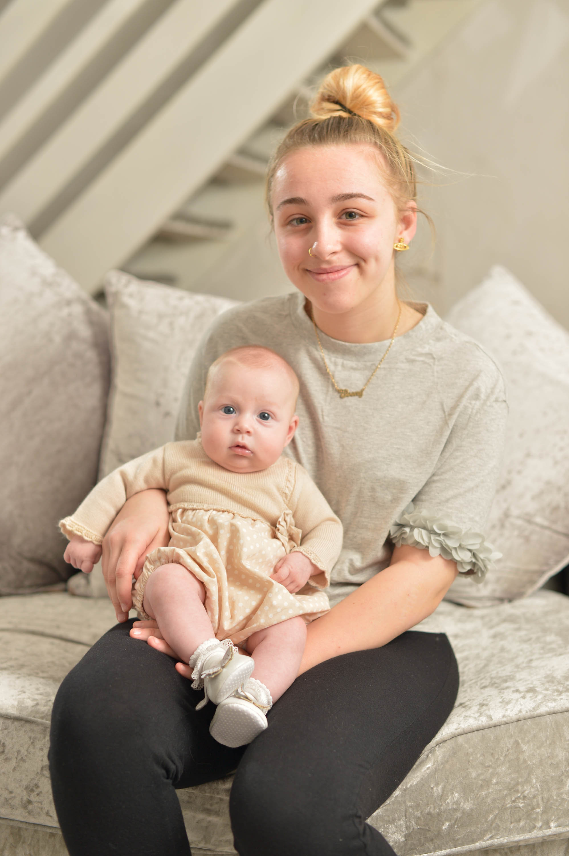 Teen wakes up from coma to baby