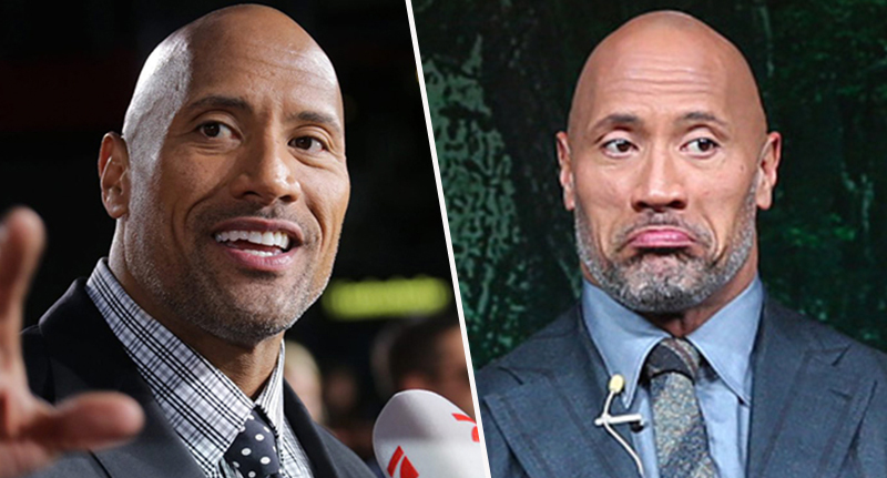 dwayne johnson portraits