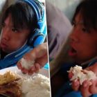 Mum Handfeeds Teenage Son Who Refuses To Stop Playing Video Games