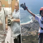 Woman Who 'Urinated Flesh And Blood' Recovers To Abseil Mountain Two Months After Surgery