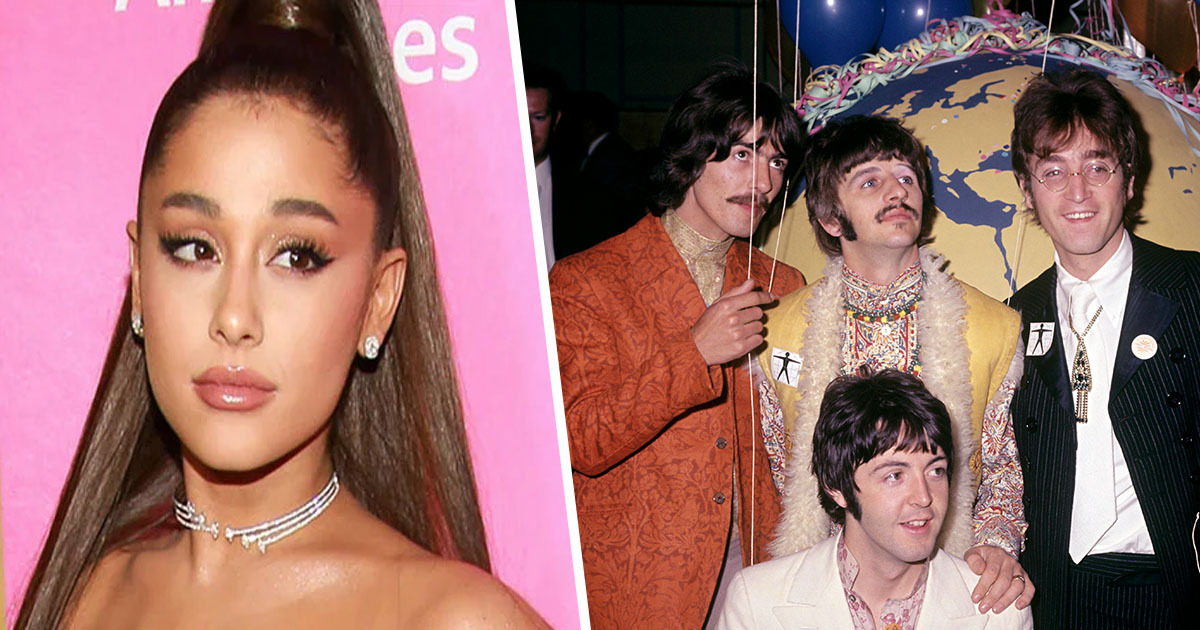 Ariana Grande matches Beatles Record