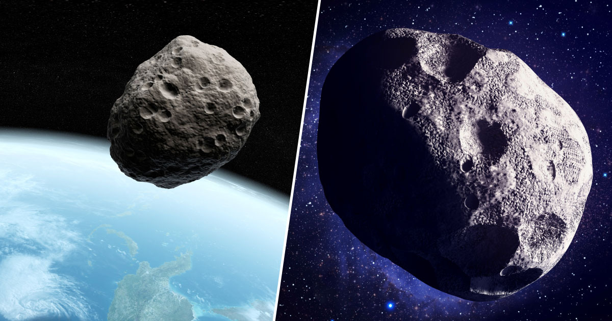 big ben-sized asteroid
