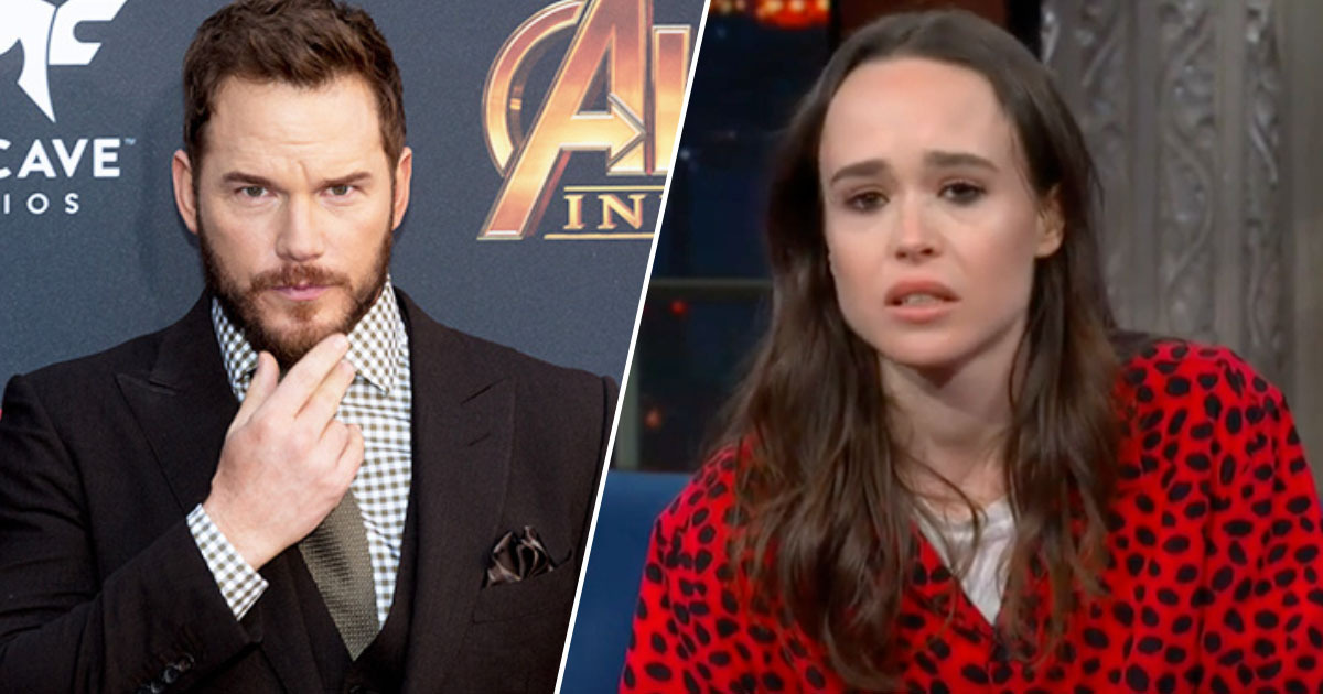 chris pratt/ellen page