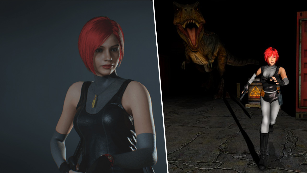 Dino Crisis Characters And Weapons Added To Resident Evil 2