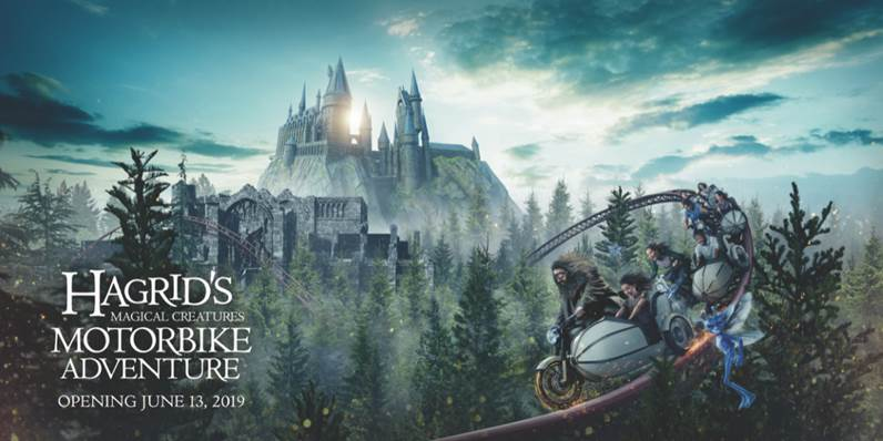 New Hagrid ride opening at Universal Orlando