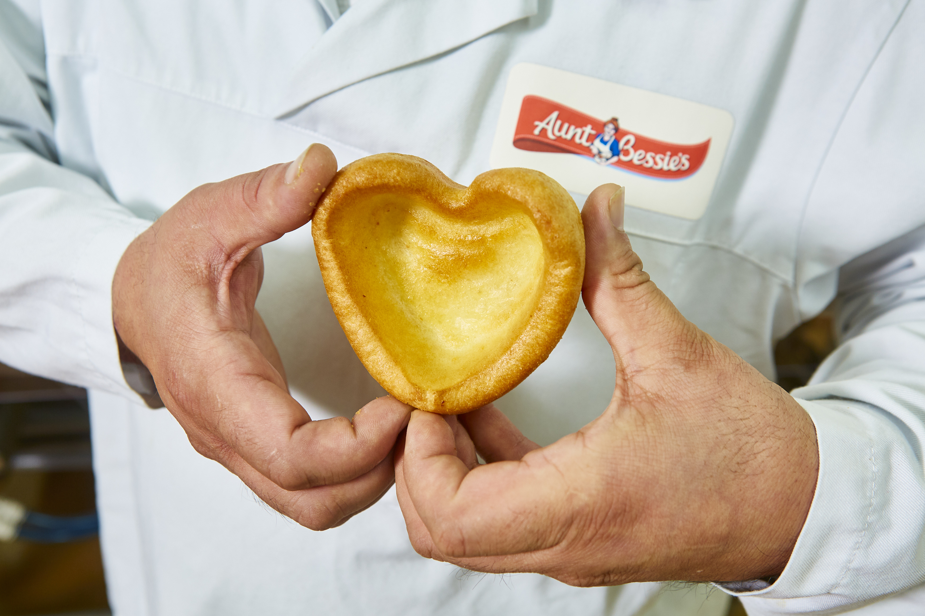 heart-shaped yorkshire pudding