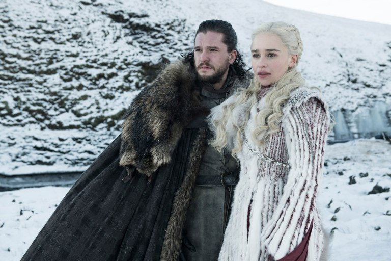 Jon Snow and Daenerys Season 8